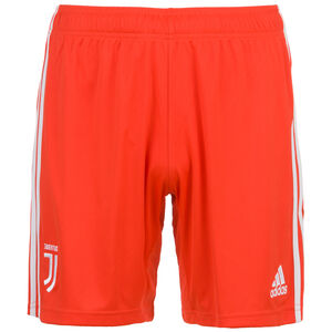 Juventus Turin Short Away 2019/2020 Herren, rot / weiß, zoom bei OUTFITTER Online