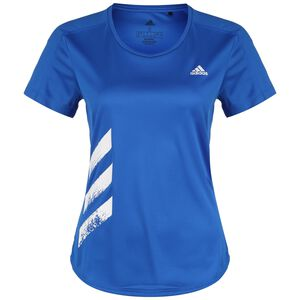 Run It 3 Stripes Laufshirt Damen, hellblau, zoom bei OUTFITTER Online