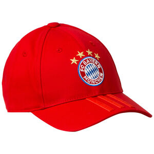 FC Bayern München 3S Cap, rot, zoom bei OUTFITTER Online