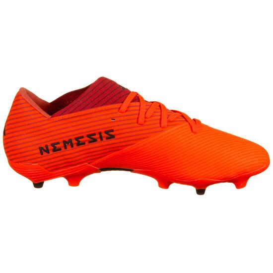 Nemeziz 19.2 FG Fußballschuh Herren, orange / rot, zoom bei OUTFITTER Online