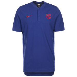 FC Barcelona Modern Authentic Poloshirt Herren, blau / rot, zoom bei OUTFITTER Online