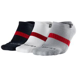 Jordan No-Show 3er Pack Socken, bunt / dunkelrot, zoom bei OUTFITTER Online