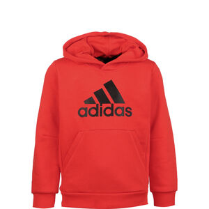 Must Haves Badge Of Sport Kapuzenpullover Kinder, rot / schwarz, zoom bei OUTFITTER Online