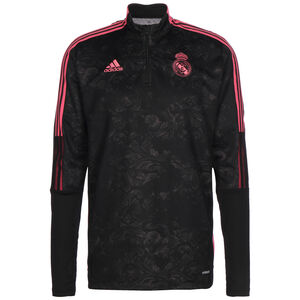 Real Madrid AOP Longsleeve Herren, schwarz / rot, zoom bei OUTFITTER Online