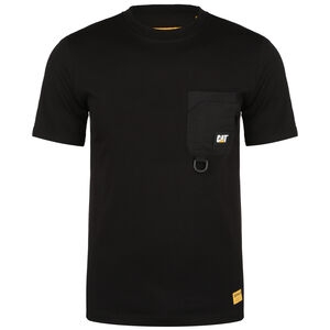Caterpillar Ring Pocket T-Shirt Herren, schwarz, zoom bei OUTFITTER Online