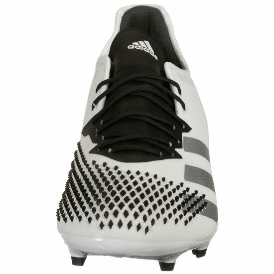 Predator 20.2 FG Fußballschuh Herren, weiß / schwarz, zoom bei OUTFITTER Online