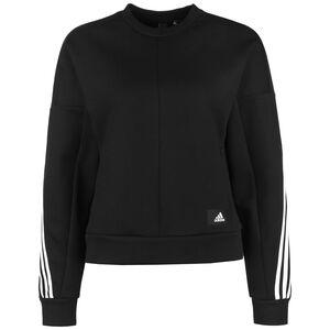 Wrapped 3-Streifen Sweatshirt Damen, schwarz / weiß, zoom bei OUTFITTER Online