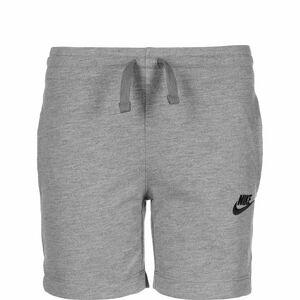 Jersey Shorts Kinder, grau / schwarz, zoom bei OUTFITTER Online