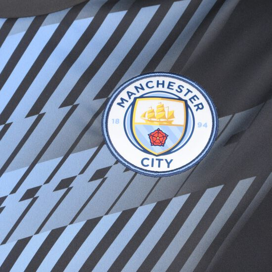 Manchester City Stadium League Trainingsshirt Herren, dunkelgrau / blau, zoom bei OUTFITTER Online