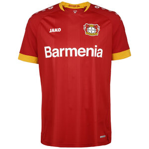 Bayer 04 Leverkusen Trikot Away 2020/2021 Herren, rot / gelb, zoom bei OUTFITTER Online