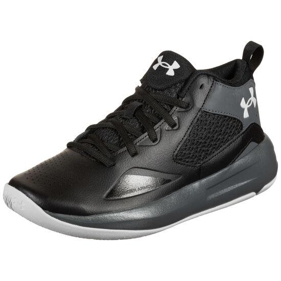 Lockdown 5 Basketballschuh Herren, schwarz / grau, zoom bei OUTFITTER Online