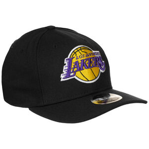 9FIFTY NBA Los Angeles Lakers Stretch Snapback Cap, schwarz, zoom bei OUTFITTER Online