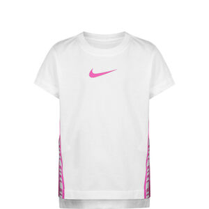 Tricot Track T-Shirt Kinder, weiß / pink, zoom bei OUTFITTER Online