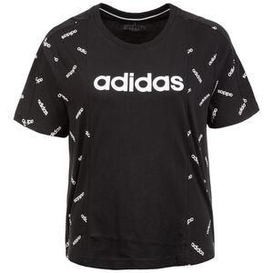 AOP T-Shirt Damen, schwarz / weiß, zoom bei OUTFITTER Online