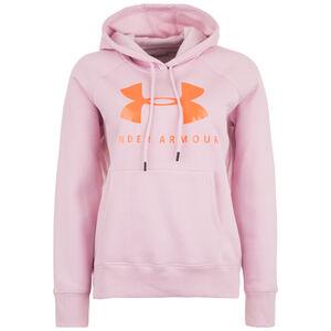 Rival Fleece Graphic Sportstyle Kapuzenpullover Damen, rosa, zoom bei OUTFITTER Online