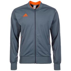 Condivo 18 Trainingsjacke Herren, dunkelgrau / orange, zoom bei OUTFITTER Online