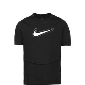 Dri-FIT Trophy Trainingshirt Mädchen, schwarz / weiß, zoom bei OUTFITTER Online