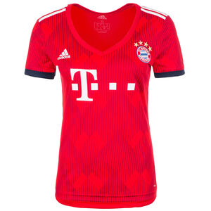 FC Bayern München Trikot Home 2018/2019 Damen, Rot, zoom bei OUTFITTER Online