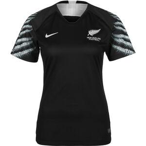 Neuseeland Trikot Away Stadium WM 2019 Damen, schwarz / hellgrau, zoom bei OUTFITTER Online