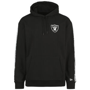 NFL Las Vegas Raiders Taping Kapuzenpullover Herren, schwarz / weiß, zoom bei OUTFITTER Online