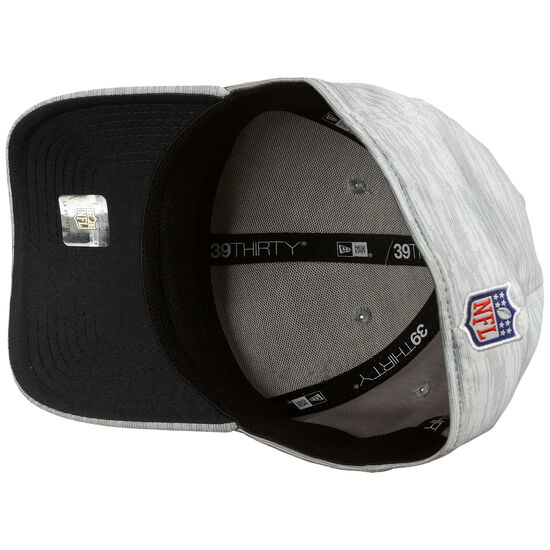 39THIRTY NFL Las Vegas Raiders On-Field Sideline Road Cap, grau / schwarz, zoom bei OUTFITTER Online