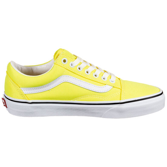Old Skool Sneaker, gelb / weiß, zoom bei OUTFITTER Online