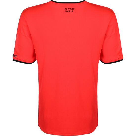 Paris St.-Germain Poly Trainingsshirt Herren, rot / schwarz, zoom bei OUTFITTER Online