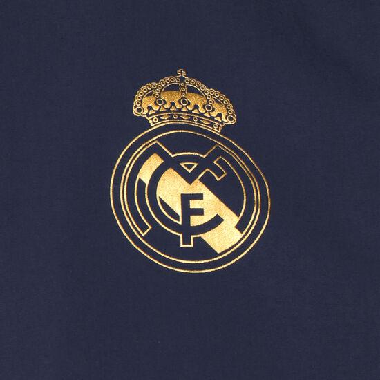 Real Madrid Seasonal Special Fleecejacke Herren, dunkelblau / gold, zoom bei OUTFITTER Online