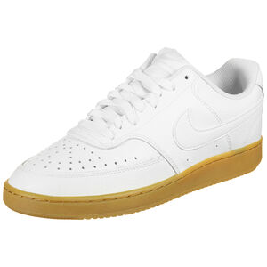 Court Vision Low Sneaker Herren, weiß / hellbraun, zoom bei OUTFITTER Online