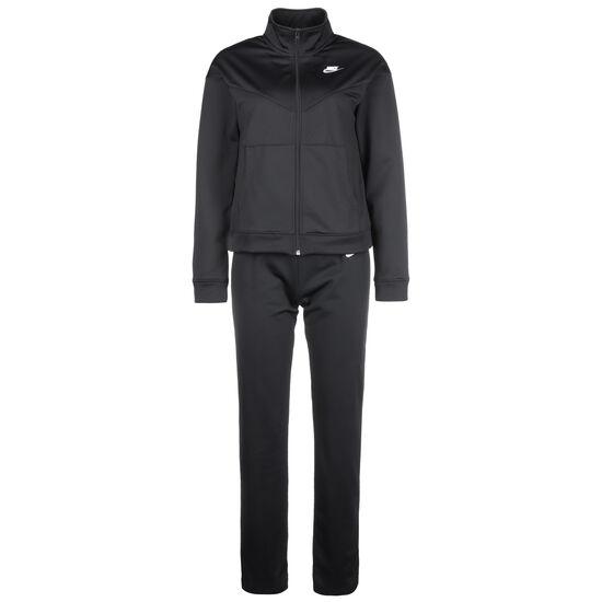 Sportswear Trainingsanzug Damen, schwarz / weiß, zoom bei OUTFITTER Online