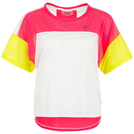 Style Laufshirt Damen, pink / neongelb, zoom bei OUTFITTER Online