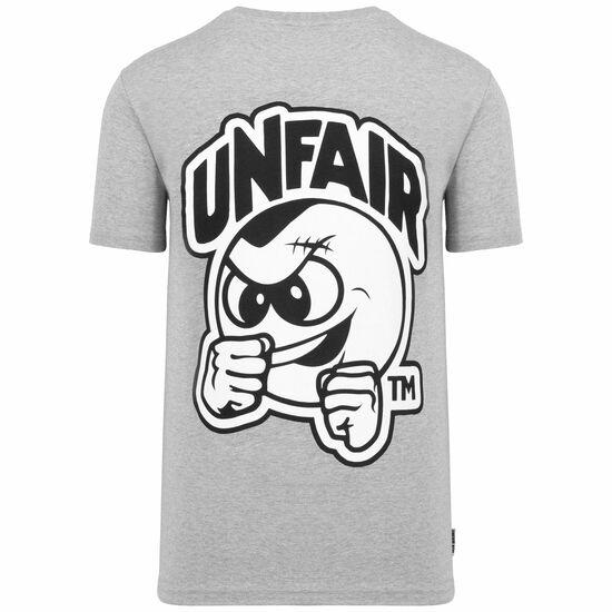 Punchingball T-Shirt Herren, grau / weiß, zoom bei OUTFITTER Online