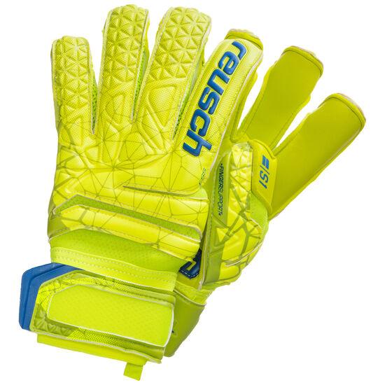 Fit Control S1 Evolution Finger Support Torwarthandschuh, hellgrün / gelb, zoom bei OUTFITTER Online