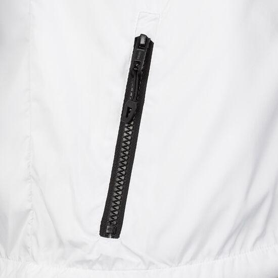 2-Tone Tech Windrunner Kapuzenjacke Herren, weiß / schwarz, zoom bei OUTFITTER Online