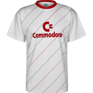 Commodore 1984 Trikot Herren, weiß / rot, zoom bei OUTFITTER Online