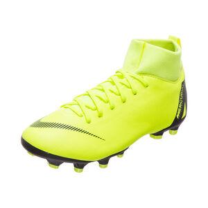 Mercurial Superfly VI Academy MG Fußballschuh Kinder, gelb / schwarz, zoom bei OUTFITTER Online