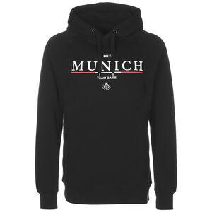 Munich Kapuzenpullover Herren, schwarz / weiß, zoom bei OUTFITTER Online