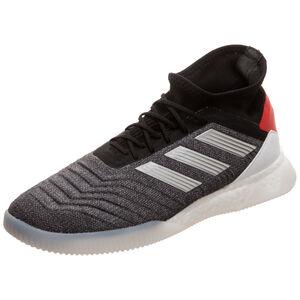 Predator 19.1 Trainers Street Sneaker Herren, dunkelgrau / rot, zoom bei OUTFITTER Online