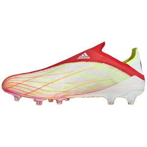X Speedflow+ AG Fußballschuh Herren, rot / weiß, zoom bei OUTFITTER Online
