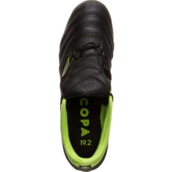 Copa Gloro 19.2 FG Fußballschuh Herren, schwarz / neongelb, zoom bei OUTFITTER Online