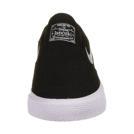 Janoski Canvas Slip-on Sneaker Kinder, schwarz / weiß, zoom bei OUTFITTER Online