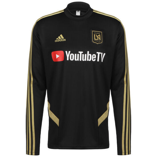 Los Angeles FC Trainingssweat Herren, schwarz / gold, zoom bei OUTFITTER Online