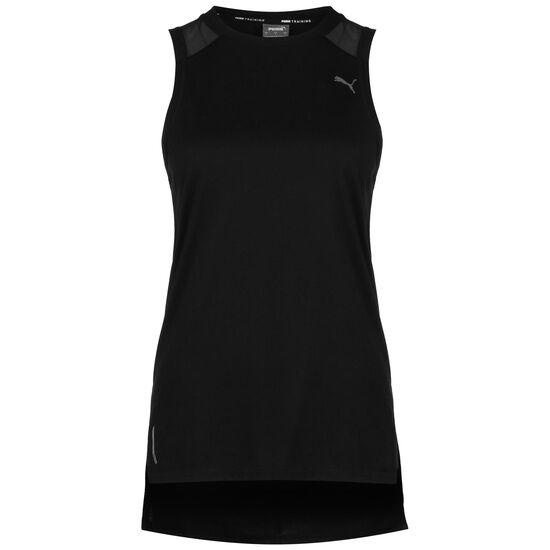 Mesh Panel Trainingstop Damen, schwarz, zoom bei OUTFITTER Online
