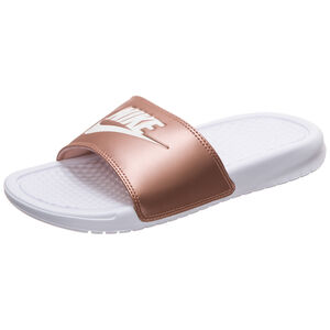 Benassi Just Do It Badesandale Damen, weiß / bronze, zoom bei OUTFITTER Online