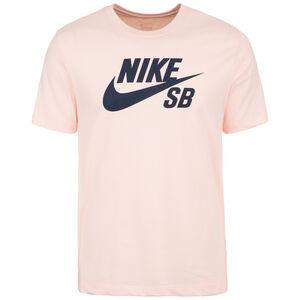 Dry Tee Logo T-Shirt Herren, rosa / dunkelblau, zoom bei OUTFITTER Online
