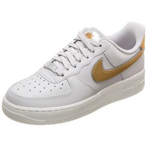 Air Force 1 '07 Metallic Sneaker Damen, grau / gold, zoom bei OUTFITTER Online