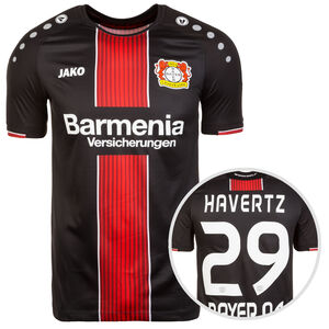 Bayer 04 Leverkusen Trikot Home Havertz 2018/2019 Herren, Schwarz, zoom bei OUTFITTER Online
