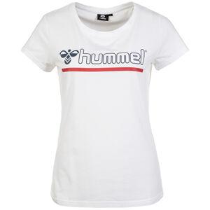 Hml Perla T-Shirt Damen, weiß / rot / blau, zoom bei OUTFITTER Online
