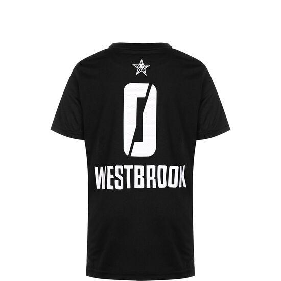 NBA All Star Thunder #0 Westbrook T-Shirt Kinder, schwarz / weiß, zoom bei OUTFITTER Online