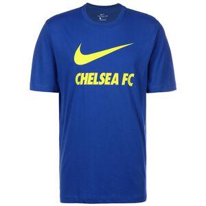 FC Chelsea Swoosh Club T-Shirt Herren, blau / gelb, zoom bei OUTFITTER Online